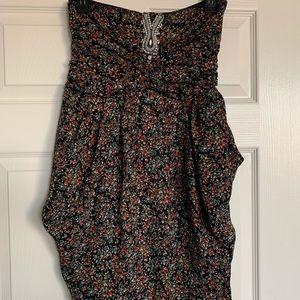 Sandro floral dress size 1